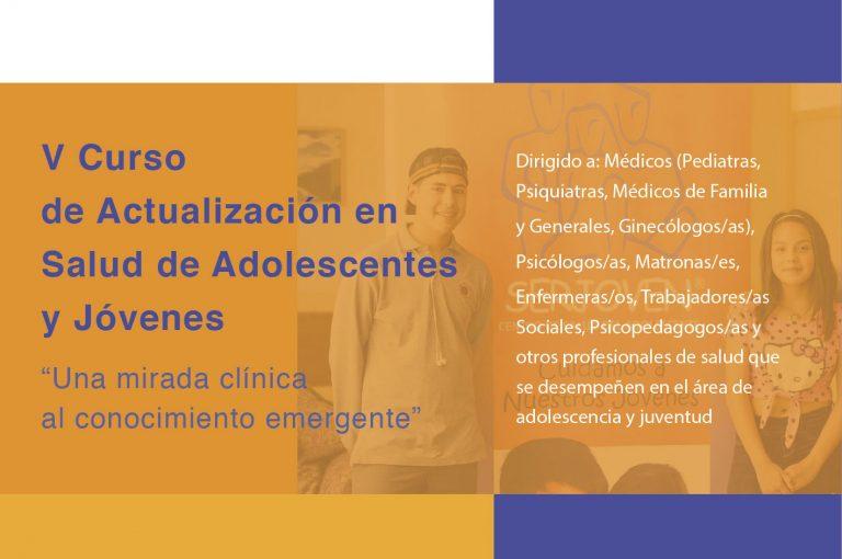 V Curso de Actualización en Salud de Adolescentes y Jóvenes